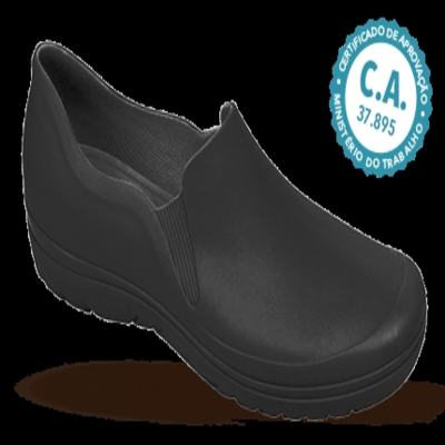Imagem 1 do produto Sapato Profissional Masculino Enzo Preto Boa Onda - 38