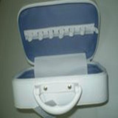 Imagem 2 do produto Maleta Branca com Zíper LKL