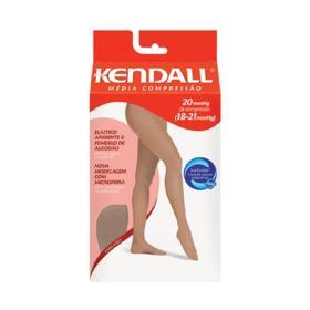 Meia-Calça Kendall 18-21mmHg - GG, ponteira fechada, mel | 1 unidade