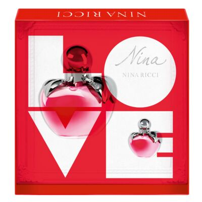 Nina Nina Ricci - Feminino - Eau de Toilette - Perfume + Miniatura - Kit