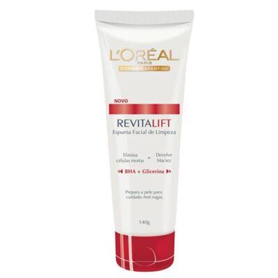 Limpeza Facial L'Oréal Paris Espuma de Limpeza Revitalift - 140g