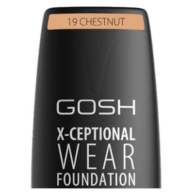 Imagem 5 do produto Base Facial Gosh Copenhagen - X-ceptional Wear Foundation - Chestnut