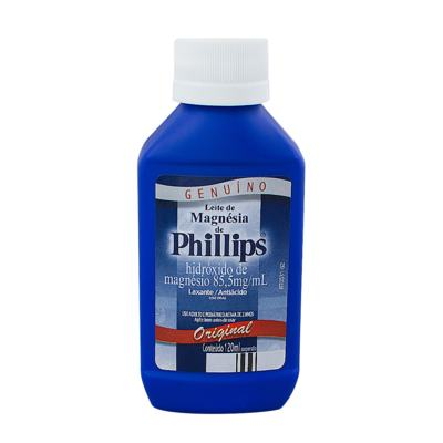 Leite de Magnésia de Phillips Original 120mL