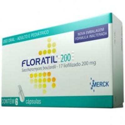 Imagem 1 do produto Floratil Merck - 200mg | 6 cápsulas