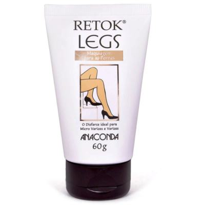 Anaconda Retok Legs Creme Cor Claro 60g