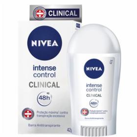 Desodorante Nivea Clinical Intense Control 42g - 42g