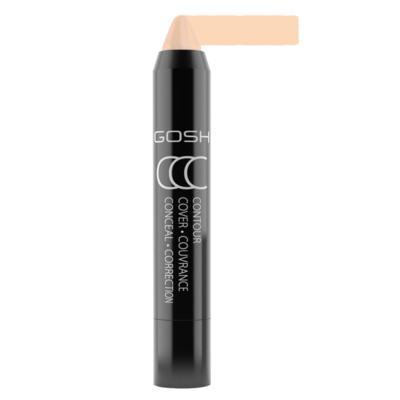 Imagem 1 do produto Contorno e Iluminador Facial Gosh Copenhagen - CCC Stick - Contour, Cover & Conceal - Light