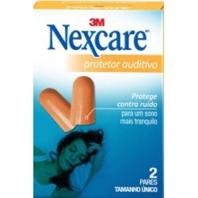 Protetor Auditivo Nexcare 3M 2 Pares
