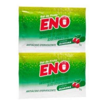 Imagem 1 do produto Sal de Fruta Eno Efervescente Guaraná 2 sachês de 5g -