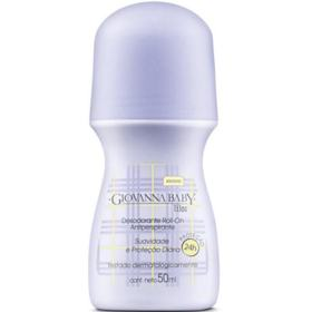 Desodorante Roll-On Giovanna Baby Lilás 50ml - 50mL