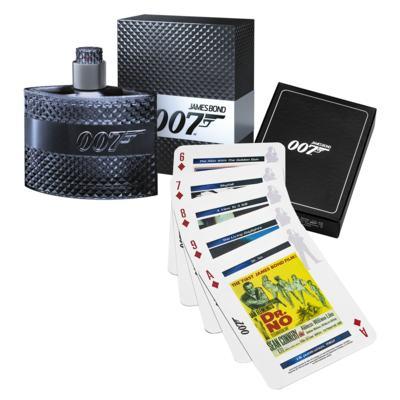 Imagem 1 do produto James Bond 007 James Bond - Masculino - Eau de Toilette - Perfume + Jogo de Cartas - Kit