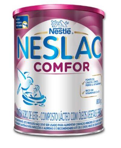 Imagem 1 do produto Nestlé Neslac Comfor Lata 800g