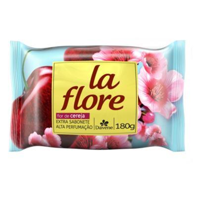 Imagem 1 do produto Sabonete La Flore Davene Flor de Cereja 180g