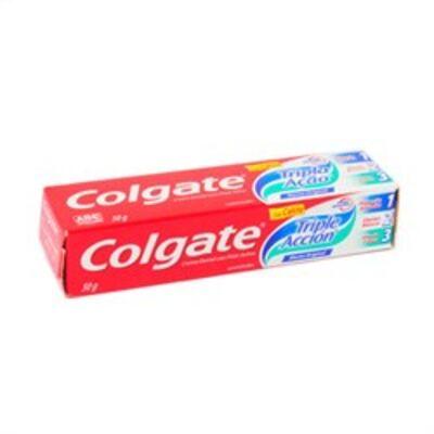 Imagem 1 do produto Creme Dental Colgate Tripla Ação Menta Suave 90g