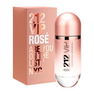 Imagem 1 do produto 212 Vip Rose De Carolina Herrera Eau De Parfum Feminino - 80 ml