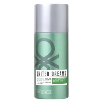Imagem 1 do produto United Dreams Desodorante Be Strong High Benetton Masculino - 150 ml