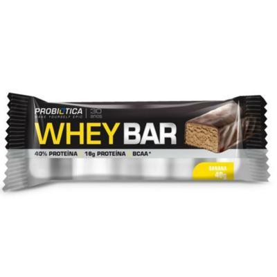 Barra de Proteína Whey Bar Low Carb - Banana   40g