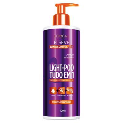 L'Oréal Paris Elseve Light-Poo Supreme Control 4D - Tratamento - 400ml