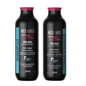 Kit Shampoo + Condicionador Nick & Vick Pro-Hair DD Cream - Kit