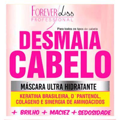 Imagem 2 do produto Forever Liss Desmaia Cabelo - Máscara Ultra Hidratante - 950g