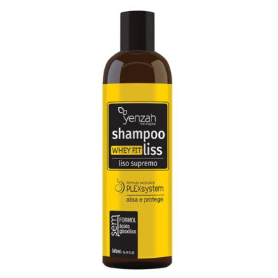 Imagem 1 do produto Yenzah Whey Fit Liss Supremo - Shampoo Alisante - 365ml