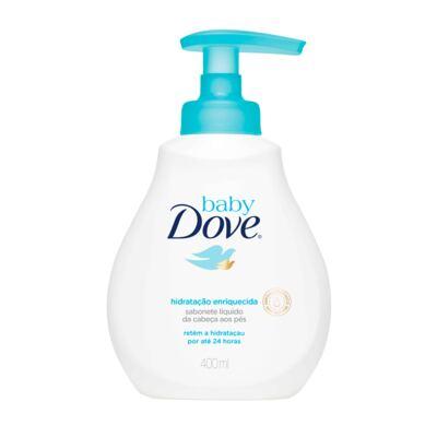 Imagem 1 do produto Sabonete Líquido Dove Baby Hidratação Enriquecida 400ml