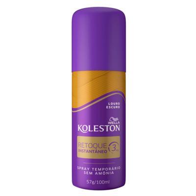 Retoque Instantâneo Spray Koleston - Louro Escuro | 100ml