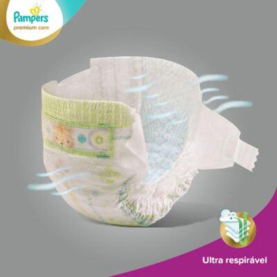 Imagem 4 do produto Fralda Descartável Pampers Premium Care Mega Tamanho P 56 Unidades