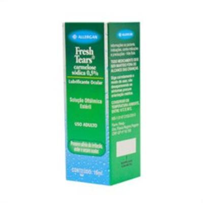 Imagem 2 do produto Fresh Tears - 5mg/mL, caixa com 1 frasco gotejador com 10mL de solução de uso oftalmológico - 10mg/mL