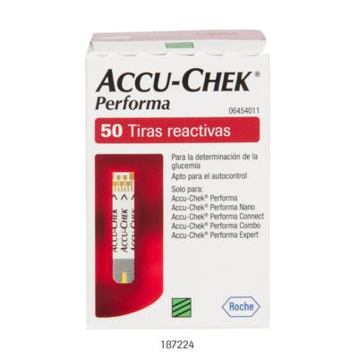 Imagem 1 do produto Tiras Accu-Chek Performa Roche C/ 50 Unidades
