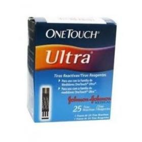 Tiras Teste Onetouch - Ultra | 25 unidades