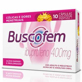 Buscofem - 400mg   10 cápsulas líquidas