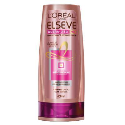 Imagem 2 do produto Kit Shampoo + Condicionador L'Oréal Paris Elseve Quera-Liso 230°C - Kit