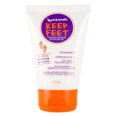 Imagem 1 do produto Creme para os Pés Pink Cheeks Keep Feet - 100g
