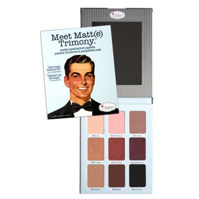 Imagem 1 do produto Meet Matt(e) Trimony The Balm - Paleta de Sombras - 1 Un