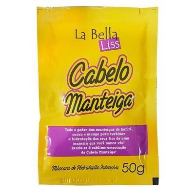 La Bella Liss Cabelo Manteiga Máscara de Hidratação - 50g