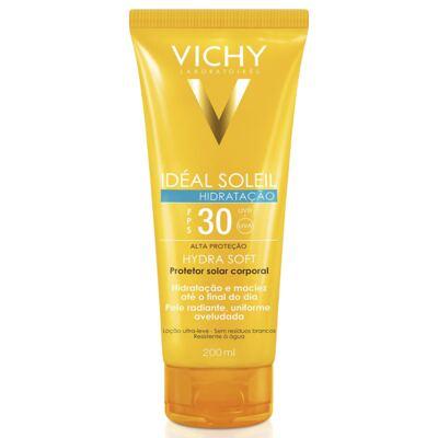 Imagem 1 do produto Protetor Solar Vichy Idéal Soleil Hydra Soft FPS 30 200ml