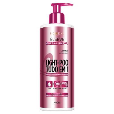 Imagem 1 do produto L'Oréal Paris Elseve Light-Poo Quera Liso [MQ] - Tratamento - 400ml