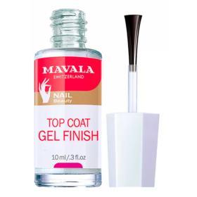 Gel Finish Top Coat Mavala - Cobertura Fixadora - 10ml