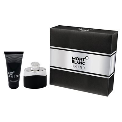 Imagem 1 do produto Legend Montblanc - Masculino - Eau de Toilette - Perfume + Pós Barba - Kit