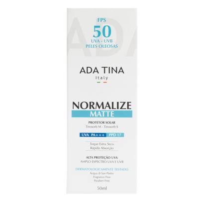 Imagem 2 do produto Normalize Matte Fps 50 Ada Tina - Protetor Solar - 50ml