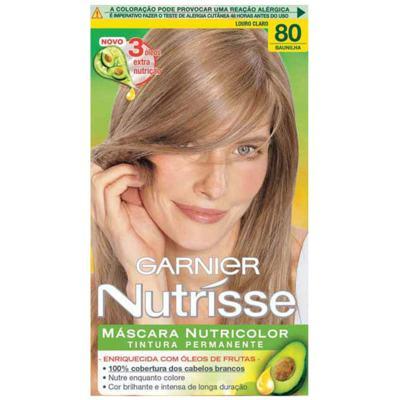 Imagem 1 do produto Tintura Garnier Nutrisse 80 Baunilha Loiro Claro