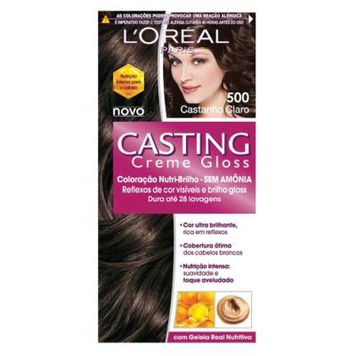 Imagem 1 do produto Tintura L'Oréal Casting Gloss 500 Castanho Claro