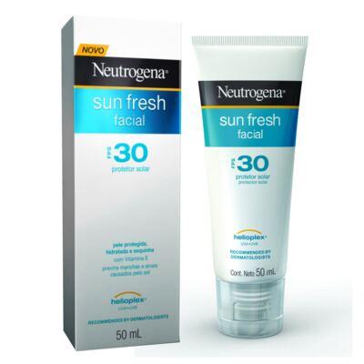 Imagem 1 do produto Protetor Solar Facial Neutrogena Sun Fresh FPS 30 50ml