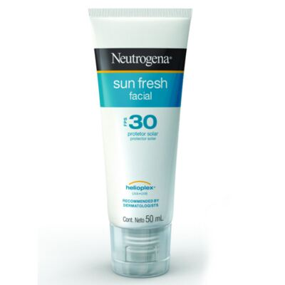 Imagem 2 do produto Protetor Solar Facial Neutrogena Sun Fresh FPS 30 50ml