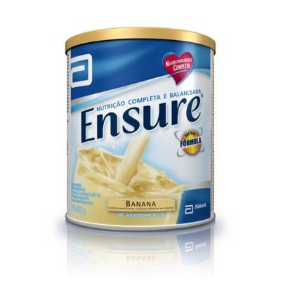 Imagem 1 do produto Complemento Alimentar Ensure Banana 400g