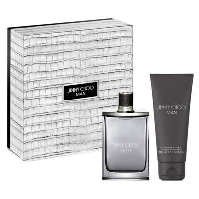 Imagem 2 do produto Jimmy Choo Man Eau de Toilette Jimmy Choo - Kit de Perfume Masculino 50ml + Gel de Banho 100ml - Kit