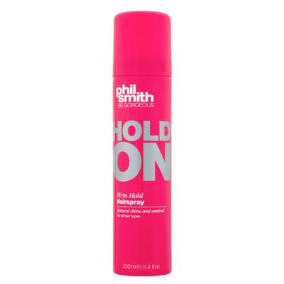 Imagem 1 do produto Phil Smith Hold On Firm Hold Hairspray - Spray Fixador - 250ml