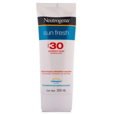 Protetor Solar Neutrogena Sun Fresh FPS 30 200ml
