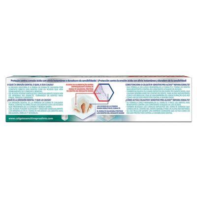 Imagem 3 do produto Creme Dental Colgate Sensitive Pro-Alívio Repara Esmalte 50g